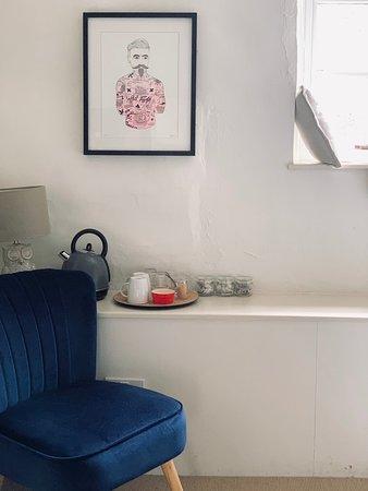 Tea and coffee in Otis room