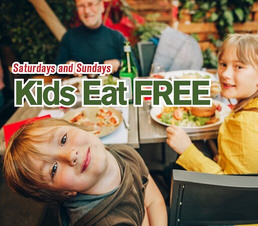 Family Friendly atmosphere and menu
