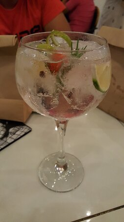 Il Rustico: gin tonic