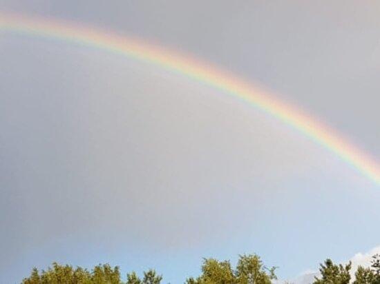 Obukhovo, Oroszország: Летняя радуга, 24.07.2020