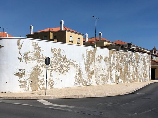 Another masterpiece by Vhils