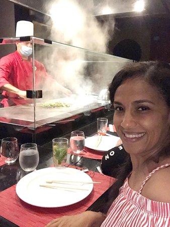 Asian Teppanyaki Show  at Zen Hard Rock Punta Cana