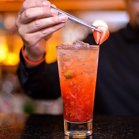 cuidamos la frescura en todas nuestras bebidas y cocteles