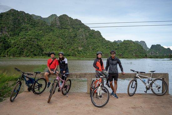 Adventure tour around Hpa An, exploring around Kayin village, farm and mountain.