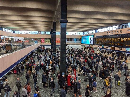 London Euston Station