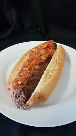 South African Boerewors Roll
