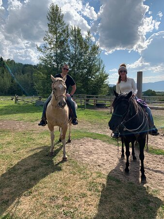 Horseback Riding and a Delicious Dinner