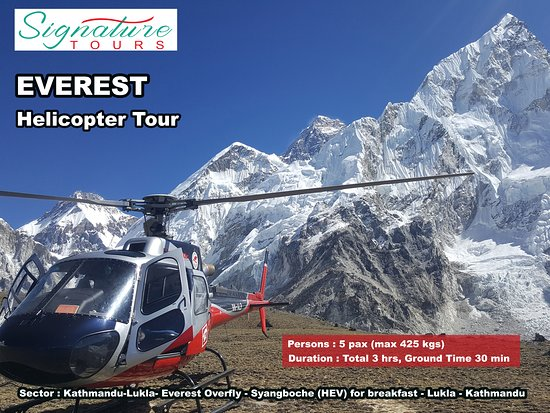 Everest Base Camp Helicopter Tour: Everest Helicopter Tour !