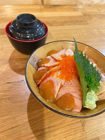 Salmon Saikyo Don