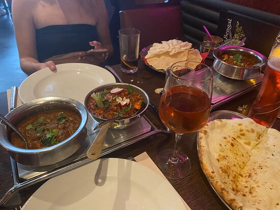 Bengal Brasserie: The best Indian in York, amazing food accompanied by amazing service!