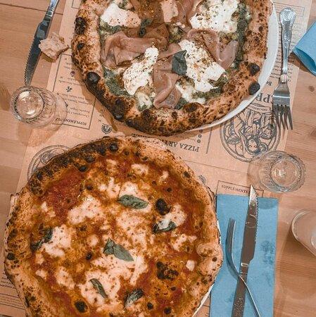 Pizza n°2 et n°10