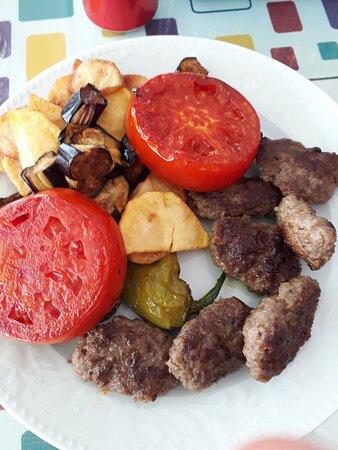Kadikale, Turkey: meat ball