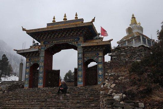 Manaslu Circuit Trek: One of the monasteries.