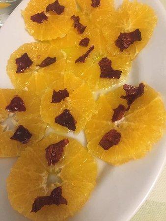 L'insalata di arance