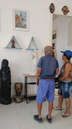 Visitação Acervo Museu Miguel Ferreira Araújo. Taperoá Bahia.