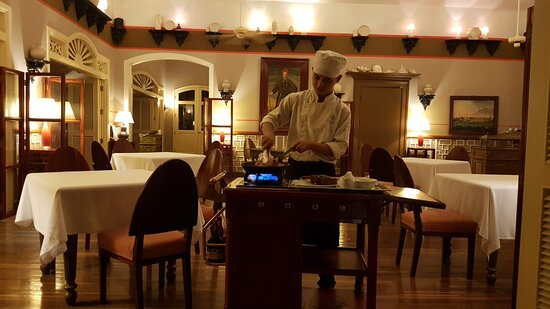 Service Au Guéridon Picture Of The Pepper Tree Restaurant Phu Quoc Island Tripadvisor