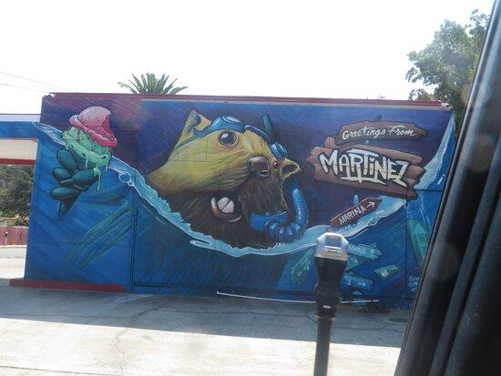 Wall Mural, Contra Costa County Historical Society, Martinez, CA