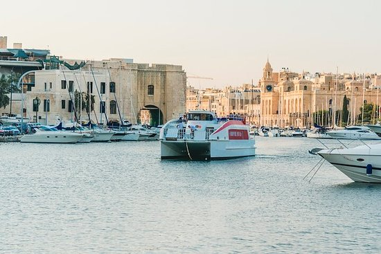HARBOUR CRUISE Around-Valletta & the 3 Cities (90 mins cruise)