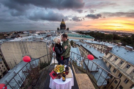 Roof Tours of S.Petersburg