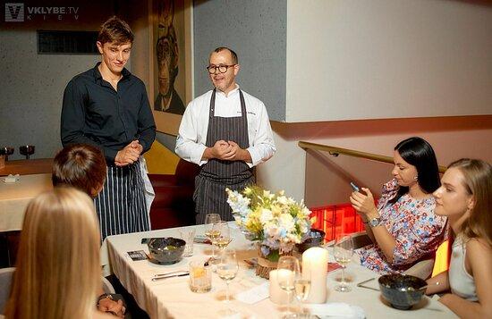 Ужин на летней террасе Queen Kyiv от YoungChef и Владимира Болибруха