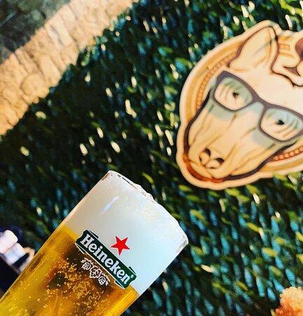 •Feel The Summer, Feel Unique, Feel DrunkDog• ————————————————— #DrunkDog #Tripoli #BestPlace #Summer2k20 #FoodLovers #Beer