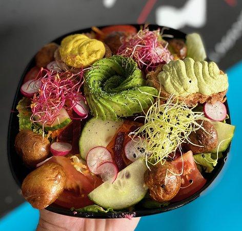salade de la semaine ici salade veggie