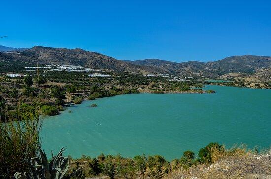 Gra Lygia, Yunani: Bramiana Dam  Foto juli 2020 Frekomovie
