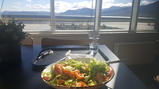 Excellent salat and view