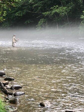 Cornwall Bridge, CT: AM Fly Fishing on the Farmington River