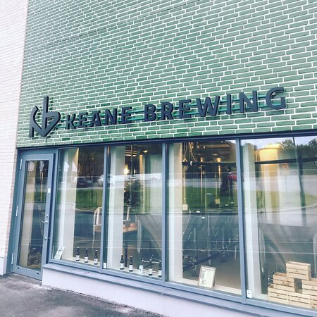 Lidingö, Sverige: Keane Brewing microbrewery open for tours and tastings.