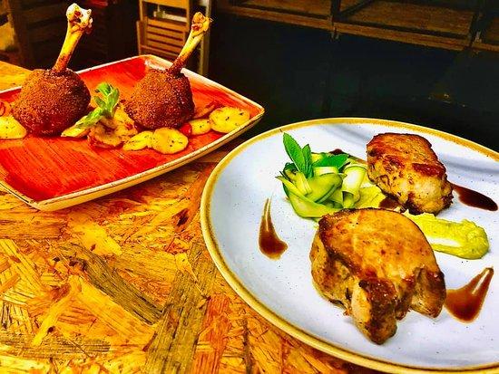 Chupa Chups di Pollo e Filetto di Maiale