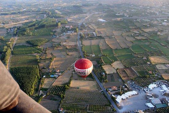 Balloon Flight, Guadix (granada): Los campos de Guadix