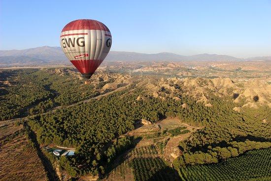Balloon Flight, Guadix (granada): Otra vista desde nuestro globo