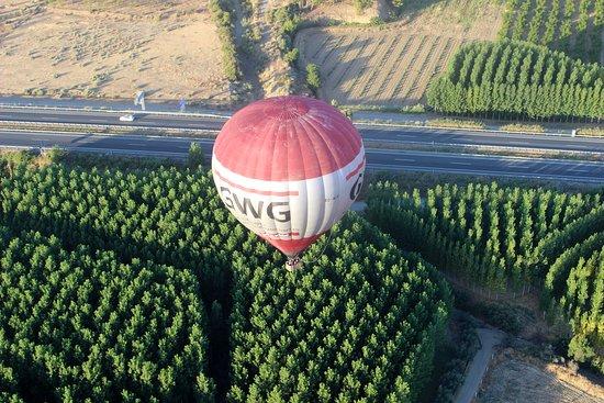 Balloon Flight, Guadix (granada): Vista aérea