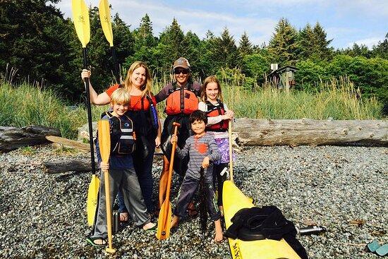 Kayak en el Parque Estatal Deception Pass