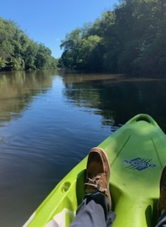 Horse Shoe, NC: River to ourselves