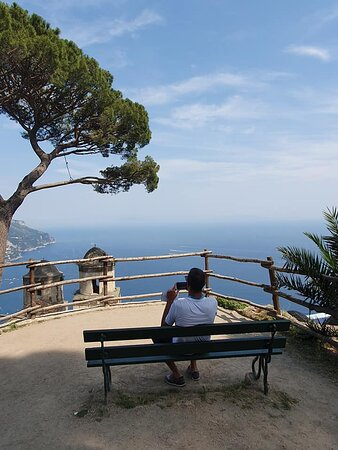 Tour to the Amalfi Coast Positano, Amalfi & Ravello from Sorrento: Villa Rufolo in Ravello