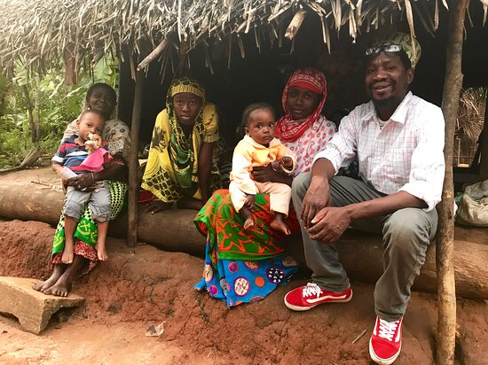 Chuini, Tanzania: Village tour with Haji. A friendly and emotional experience.