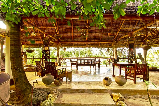 Chuini, Tanzania: chill area, where reading a book, practise yoga and meditation, take a nap!