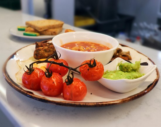 GF Vegetarian breakfast.