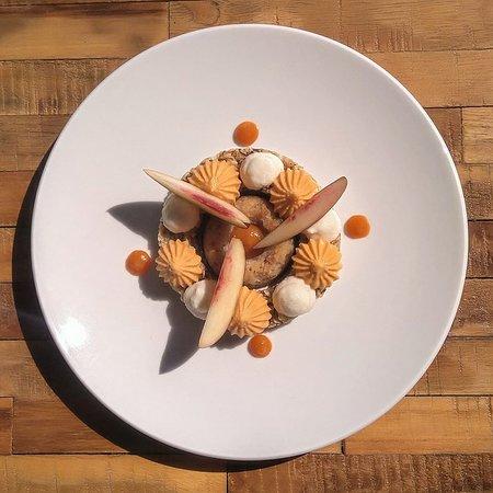 Dessert vegan Abricot Lavande