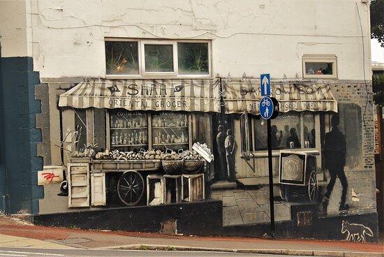 Sheffield, UK: public art piece