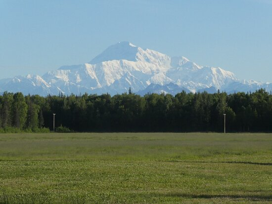 This is a close up of a clear Denali.