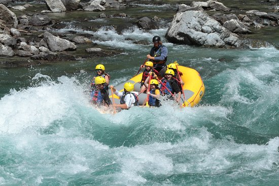 Full Day Whitewater Adventure Trip with Included Lunch: Family fun