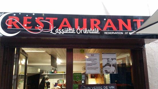 L'assiette orientale