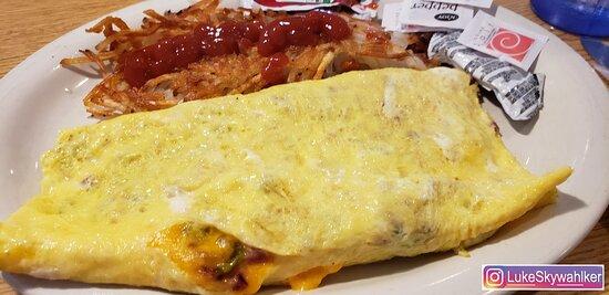 Eureka, IL: Perfect egg mix! Western Omelet
