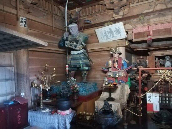 Chuson-ji Temple Benkeido
