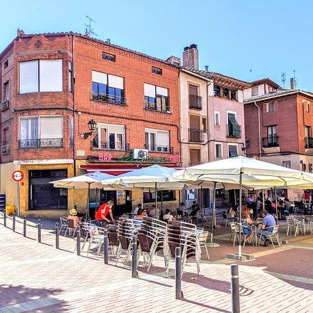 Molina de  Aragon, Španělsko: BAR LA GRANJA CAFE. PLAZA DE SAN PEDRO. MOLINA DE ARAGON.