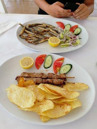 Kleine kulinarisch wertvolle Mittagspause