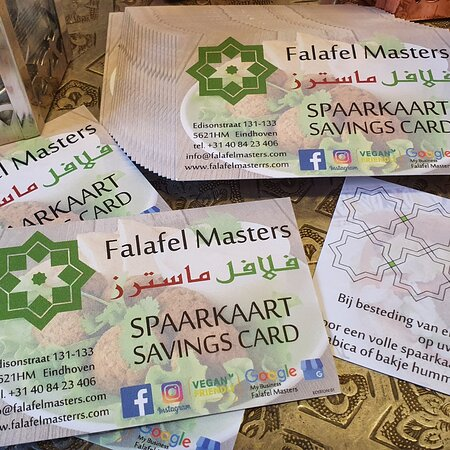 You can save for healthy falafel sandwiches or one of the delicious flavours.